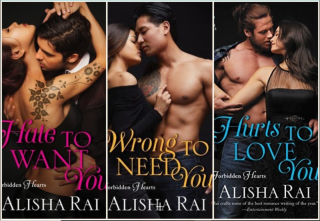 Alisharai Forbidden Heart covers