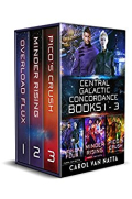 Central Galactic Concordance Book 1-3 box set cover.