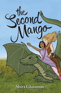 The Second Mango by Shira Glassman  two women ride a dragon  one is dark skinned and the other white and blonde