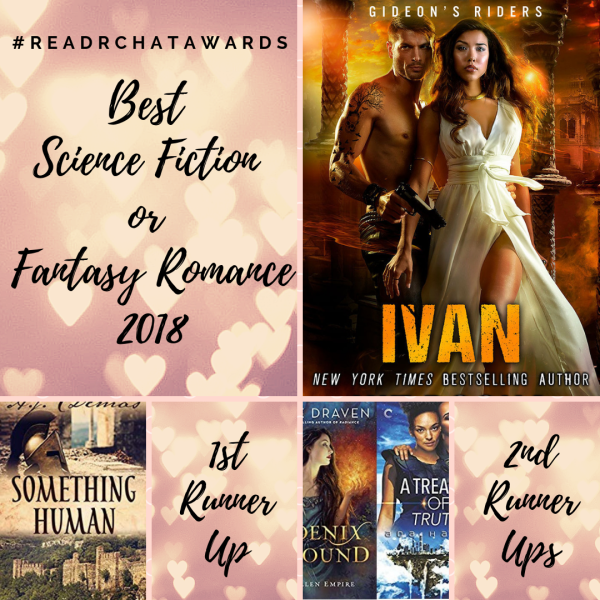 And the Winners are    The 2018 #readRchat Awards - Ana