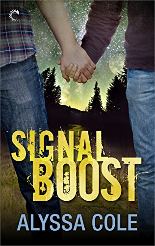 Signal book  two men holding hands with trees
