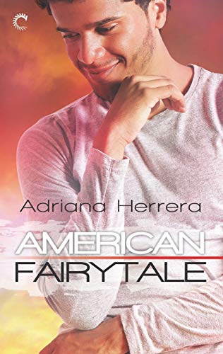American fairytale cover  young afro-latinoman in white henley