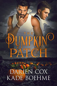 Pumpkin patch cover two men in tank tops.